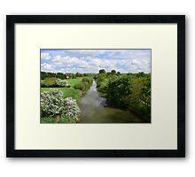 Stamford Bridge - River Derwent Framed Print