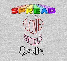 Spread a little love! Womens Fitted T-Shirt