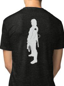 What Bucky Clause? (dark shirts) Tri-blend T-Shirt