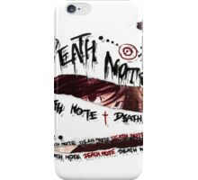 <DEATH NOTE> Graphic Death Note iPhone Case/Skin