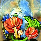 The Dragon and the Caterpillar by Patricia Howitt