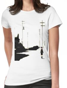 Lain Womens Fitted T-Shirt