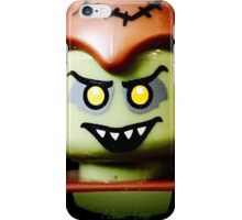 The sinister smile of a Goblin iPhone Case/Skin