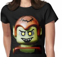 The sinister smile of a Goblin Womens Fitted T-Shirt