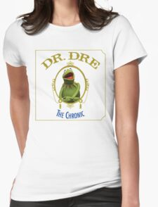 Kermit the chronic Womens Fitted T-Shirt