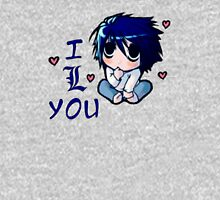 "<DEATH NOTE> L Chibi ""I Love You"" Unisex T-Shirt"