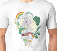 Vegan Unicorn Unisex T-Shirt