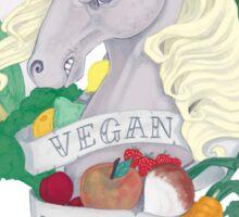 Vegan Unicorn Sticker