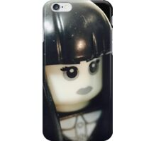 The Girl and her teddy bear iPhone Case/Skin