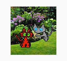 Cats In The Garden Unisex T-Shirt