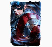 Cap.America-Civil-War / Capitan (1) Men's Baseball ¾ T-Shirt