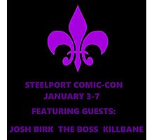 Steelport Comic Con Photographic Print