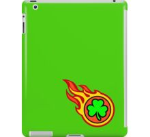 Irish Shamrock On Fire iPad Case/Skin