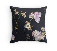 Pressed Flowers 3  Throw Pillow