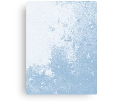 Earth Sweat Design (Airy Blue Color) Canvas Print