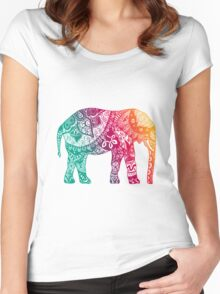Warm Elephant Women's Fitted Scoop T-Shirt