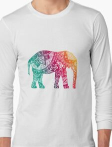 Warm Elephant Long Sleeve T-Shirt