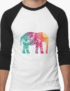 Warm Elephant Men's Baseball ¾ T-Shirt