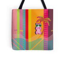 Throwback Beach Gummy Bear Tote Bag