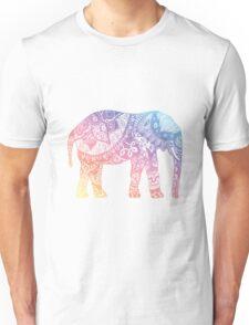 Pastel Elephant Unisex T-Shirt