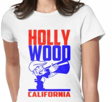 HOLLYWOOD, CALIFORNIA Womens Fitted T-Shirt