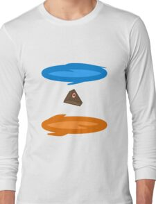 Portal Cake Long Sleeve T-Shirt