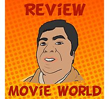Review Movie World Photographic Print