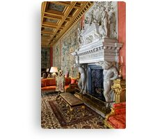 The Saloon at Longleat House, Wiltshire, United Kingdom. Canvas Print