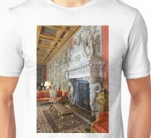 The Saloon at Longleat House, Wiltshire, United Kingdom. Unisex T-Shirt