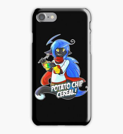 Potato Chip Cereal! iPhone Case/Skin