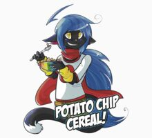 Potato Chip Cereal! Kids Tee