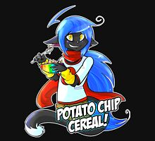 Potato Chip Cereal! Womens Fitted T-Shirt