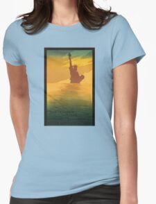 Statue of Liberty (Reproduction) Womens Fitted T-Shirt