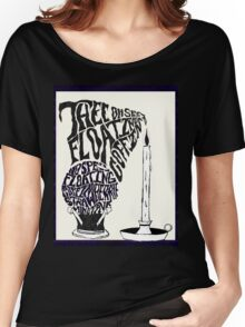 Thee oh Sees-floating coffin poster! Women's Relaxed Fit T-Shirt