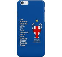 Chelsea 2012 Champions League Winners iPhone Case/Skin