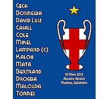Chelsea 2012 Champions League Winners Photographic Print