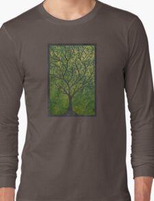 Ornate elvish tree Long Sleeve T-Shirt