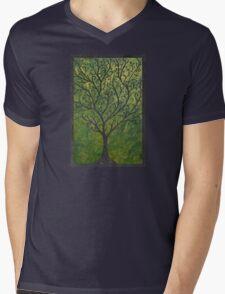 Ornate elvish tree Mens V-Neck T-Shirt