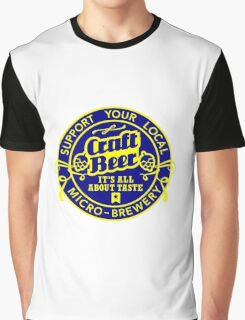 Craft Beer Graphic T-Shirt