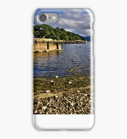 Derwentwater From The Northern Shore  iPhone Case/Skin