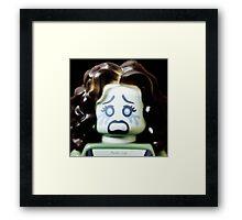 Beware of the Banshee!! Framed Print