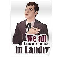 We all know one another, in Landru.  Poster