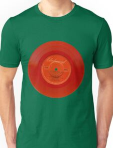 Red Vinyl Unisex T-Shirt
