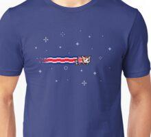 Union Jack Corgi | Pixel Art Unisex T-Shirt
