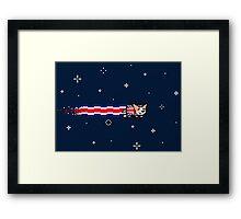 Union Jack Corgi Framed Print