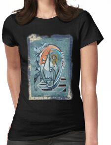 picasso graffiti # 8 Womens Fitted T-Shirt