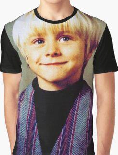 Young Kurt Cobain Graphic T-Shirt