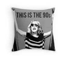 This is the 90s Throw Pillow