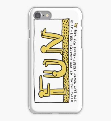 keith haring, keith, haring, graffiti, fun, art, gallery, paris, symbol, trending, parody, funny, cute, pop art. iPhone Case/Skin