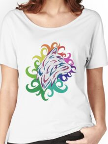 Rainbow Wolf Women's Relaxed Fit T-Shirt